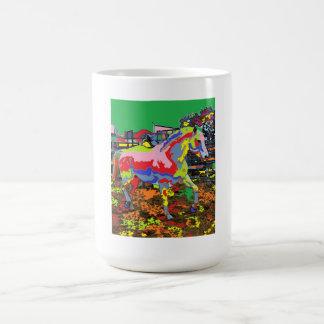 horse Portrait 08 Coffee Mug