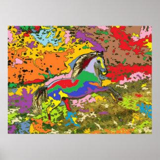 horse Portrait 4 Print