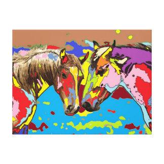 horse Portrait 9 Canvas Print
