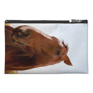 Horse portrait travel accessory bags