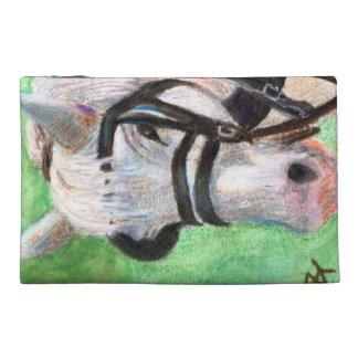 Horse Portrait Travel Accessories Bag