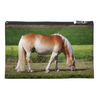 Horse portrait travel accessory bag