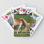 Horse portrait bicycle poker cards
