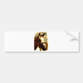 Horse Portrait Bumper Sticker
