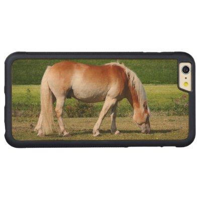 Horse portrait carved® maple iPhone 6 plus bumper case