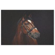 Horse Portrait Ephemera Decoupage Vintage Tissue Paper