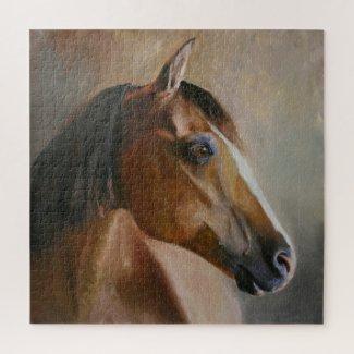 Horse Portrait Jigsaw Puzzle