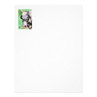 Horse Portrait Letterhead
