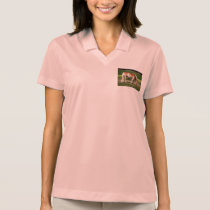 Horse portrait polo shirt