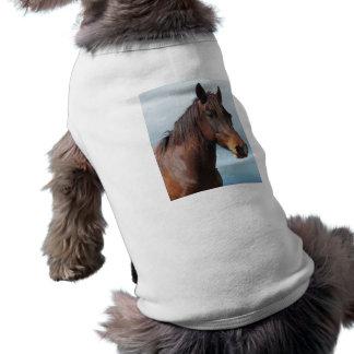 Horse portrait shirt