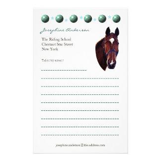 Horse Portrait Stationery