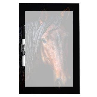Horse Portrait VII Dry Erase Board