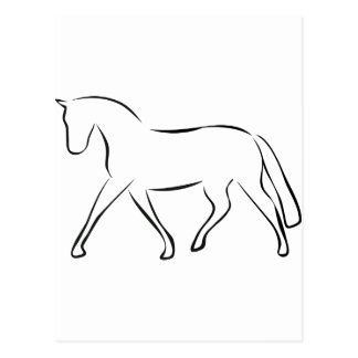 horse tarjetas postales