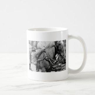 Horse Power, 1940 Coffee Mug