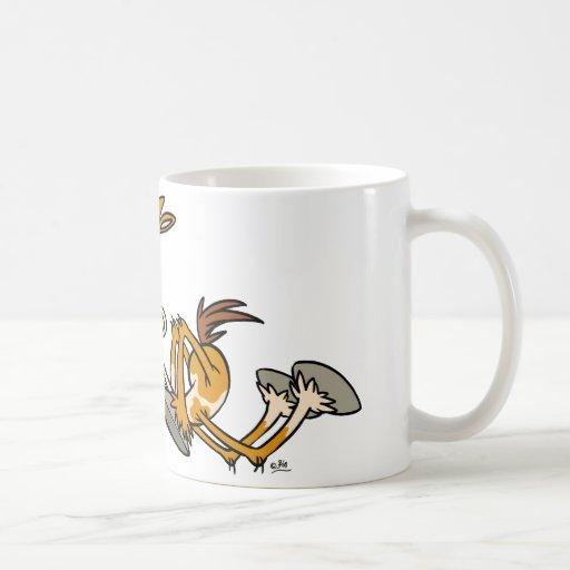 Horse Power cartoon mug