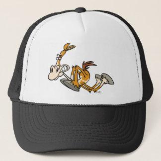 Horse Power cartoon trucker hat