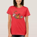 Horse Power cartoon Women T-shirt