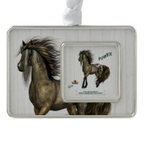 Horse Power Christmas Ornament