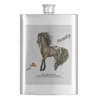 Horse Power Flask