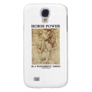 Horse Power Is A Wonderful Thing (da Vinci) Galaxy S4 Covers