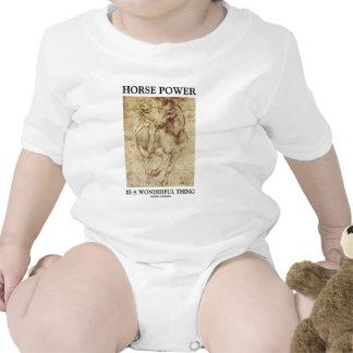 Horse Power Is A Wonderful Thing Leonardo da Vinci Tshirt