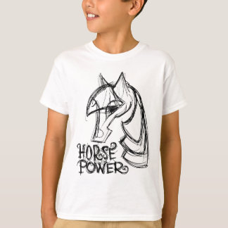 Horse Power Kids T-Shirt