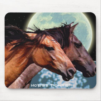 HORSE POWER Spanish Mustangs Mousepad