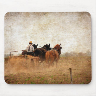Horse Powered Field Work Mouse Pad