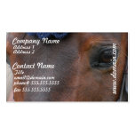 Horse Profile Business Cards