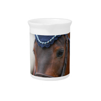 Horse Profile Pitcher