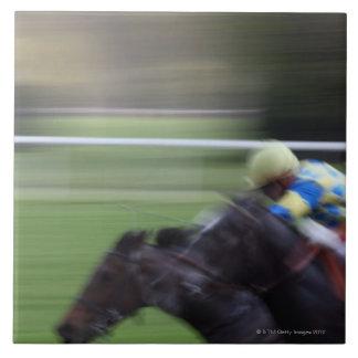 horse race 3 ceramic tiles