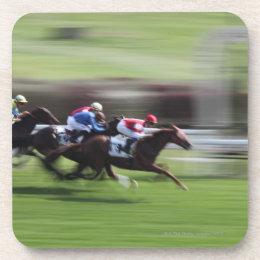 Horse Race Beverage Coaster