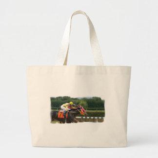 Horse Race Finish Canvas Bag