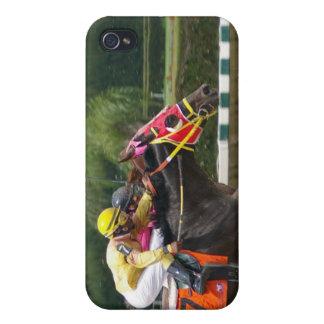 Horse Race Finish iPhone 4 Case
