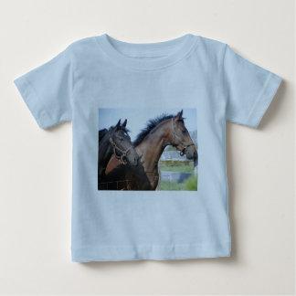 Horse Race Finish Line Baby T-Shirt