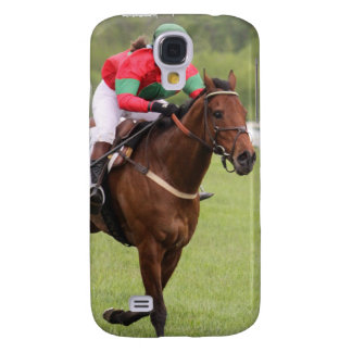 Horse Race iPhone 3G Case Samsung Galaxy S4 Case