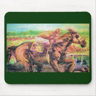 Horse Race Mouse Pad