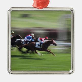 horse race christmas ornament