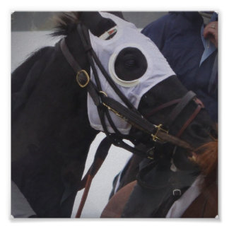 Horse Race Poster Print