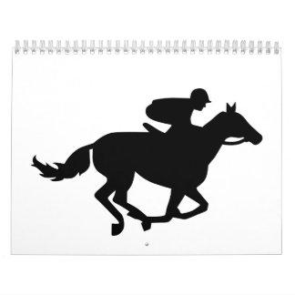 Horse race racing calendar
