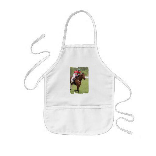 Horse Race Small Apron