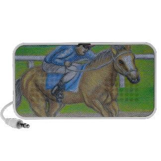 Horse race PC speakers