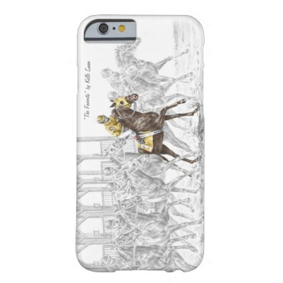 Horse Race Starting Gate Barely There iPhone 6 Case