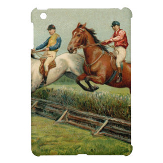 horse race vintage design iPad mini case