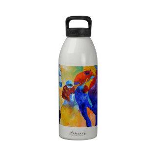 Horse race water bottles