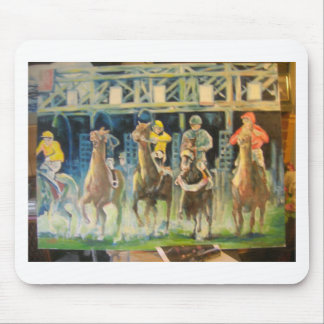 horse races by Hart 002 Mouse Pad