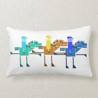 Horse races pillow