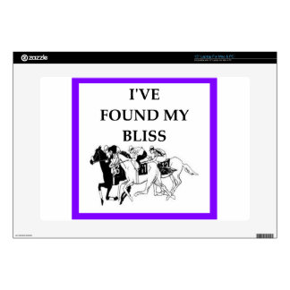 "horse racing 15"" laptop skins"