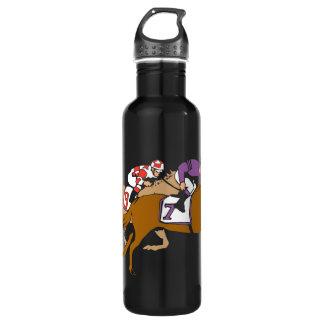 Horse Racing 24oz Water Bottle