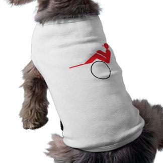 Horse Racing 2 Dog T-shirt